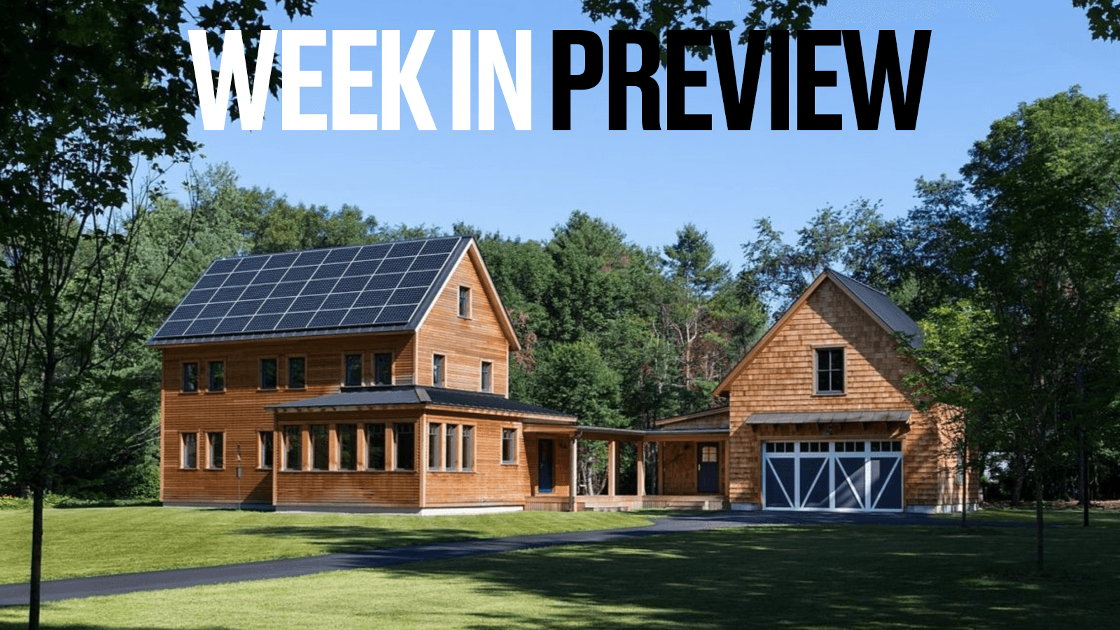 Passive House Week In Preview: October 11