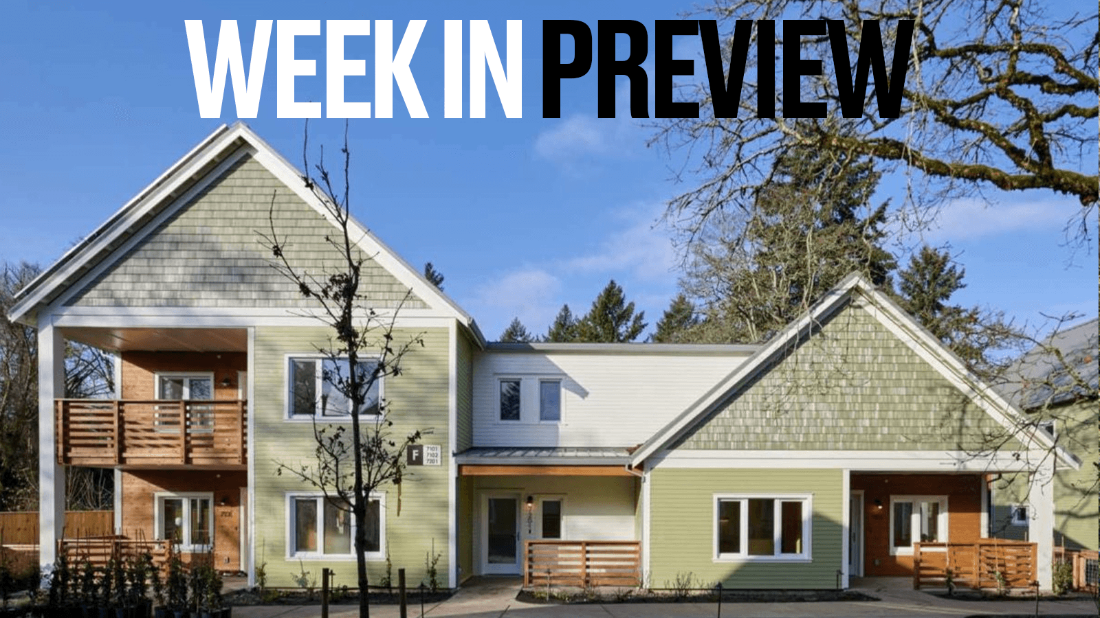 Passive House Week In Preview: September 27