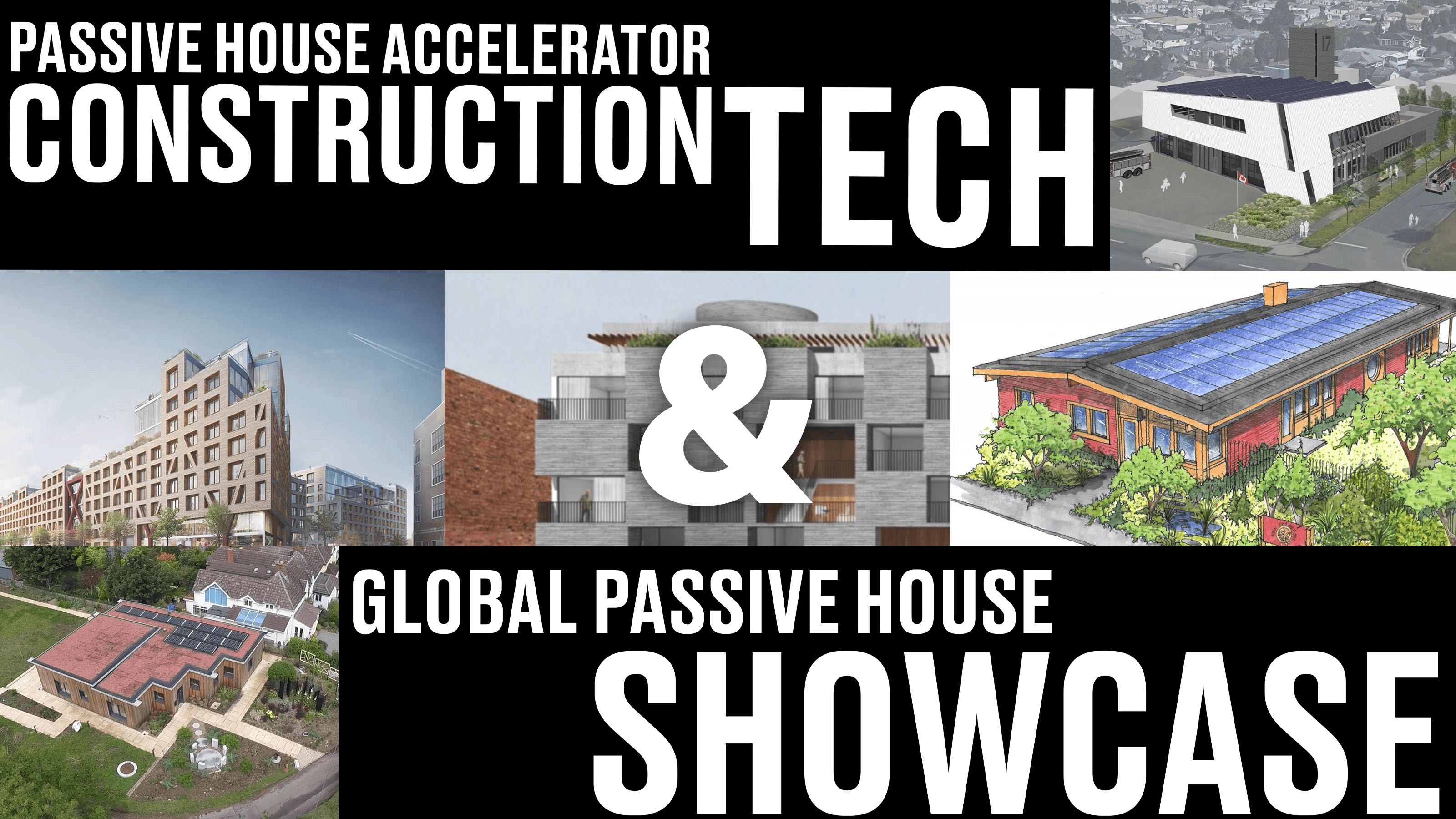 October Lineup for Construction Tech and Global Passive House Showcase