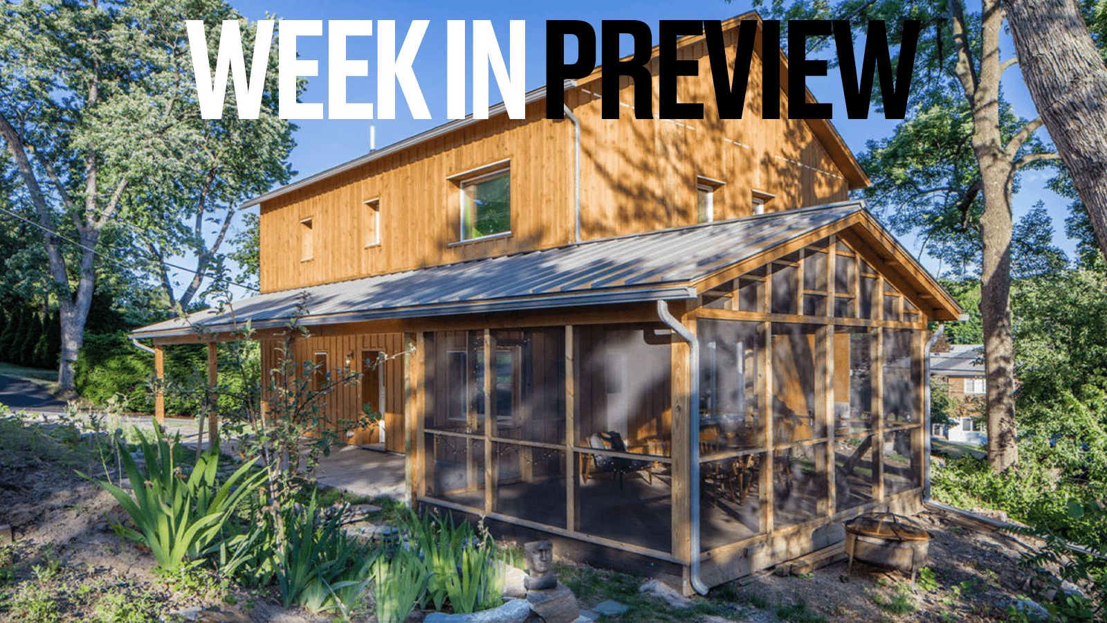 Passive House Week In Preview: September 20