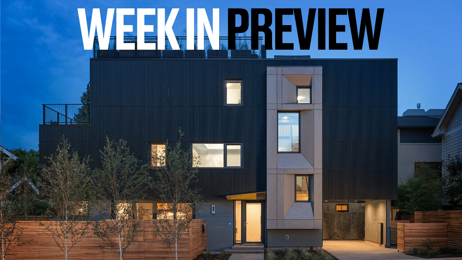 Passive House Week In Preview: October 4