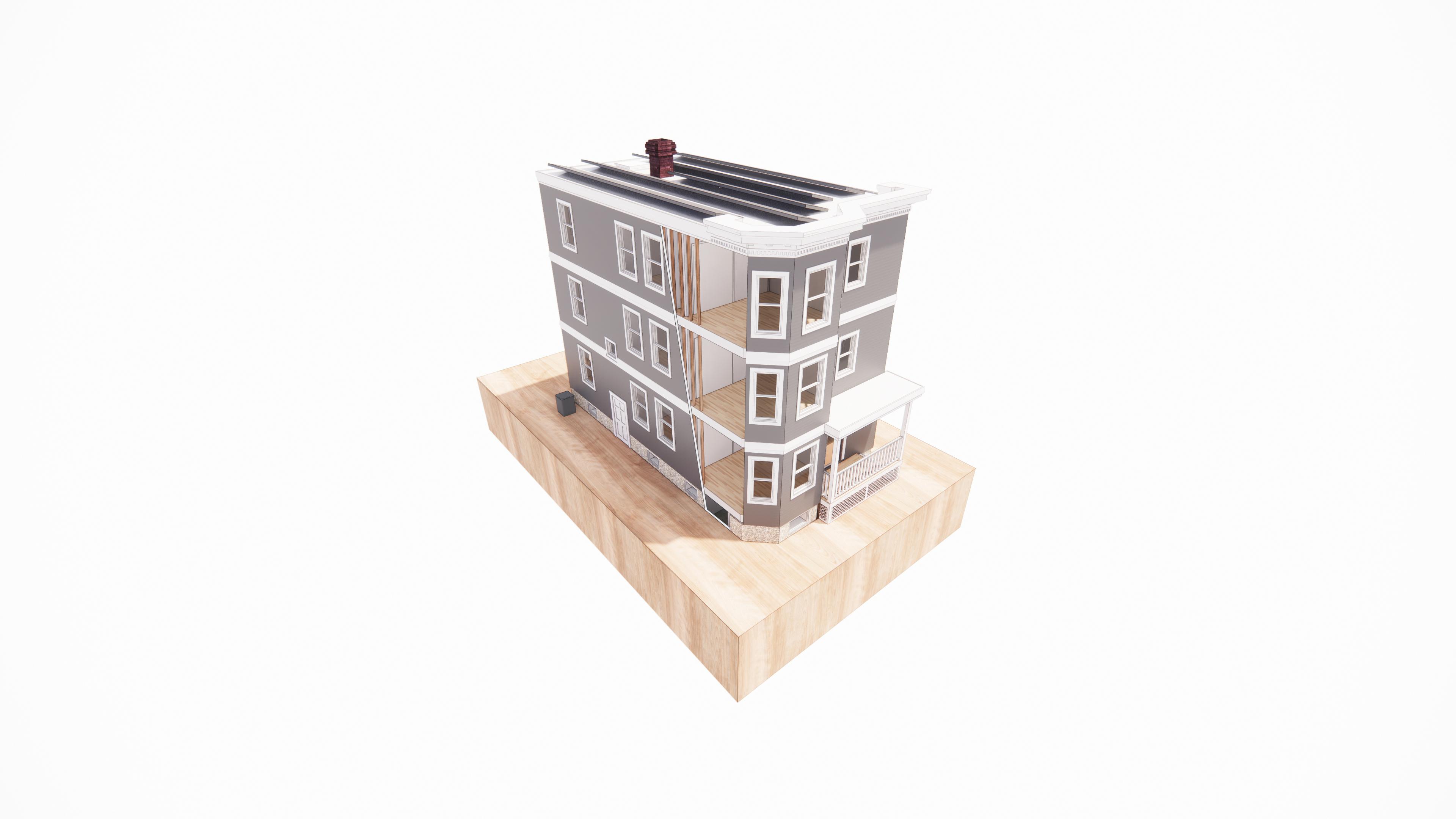 TDC Passive House Retrofit Toolkit: MassCEC case study