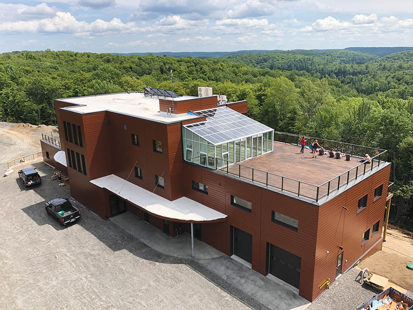 The Living Libations Passive House Headquarters Haliburton, Ontario