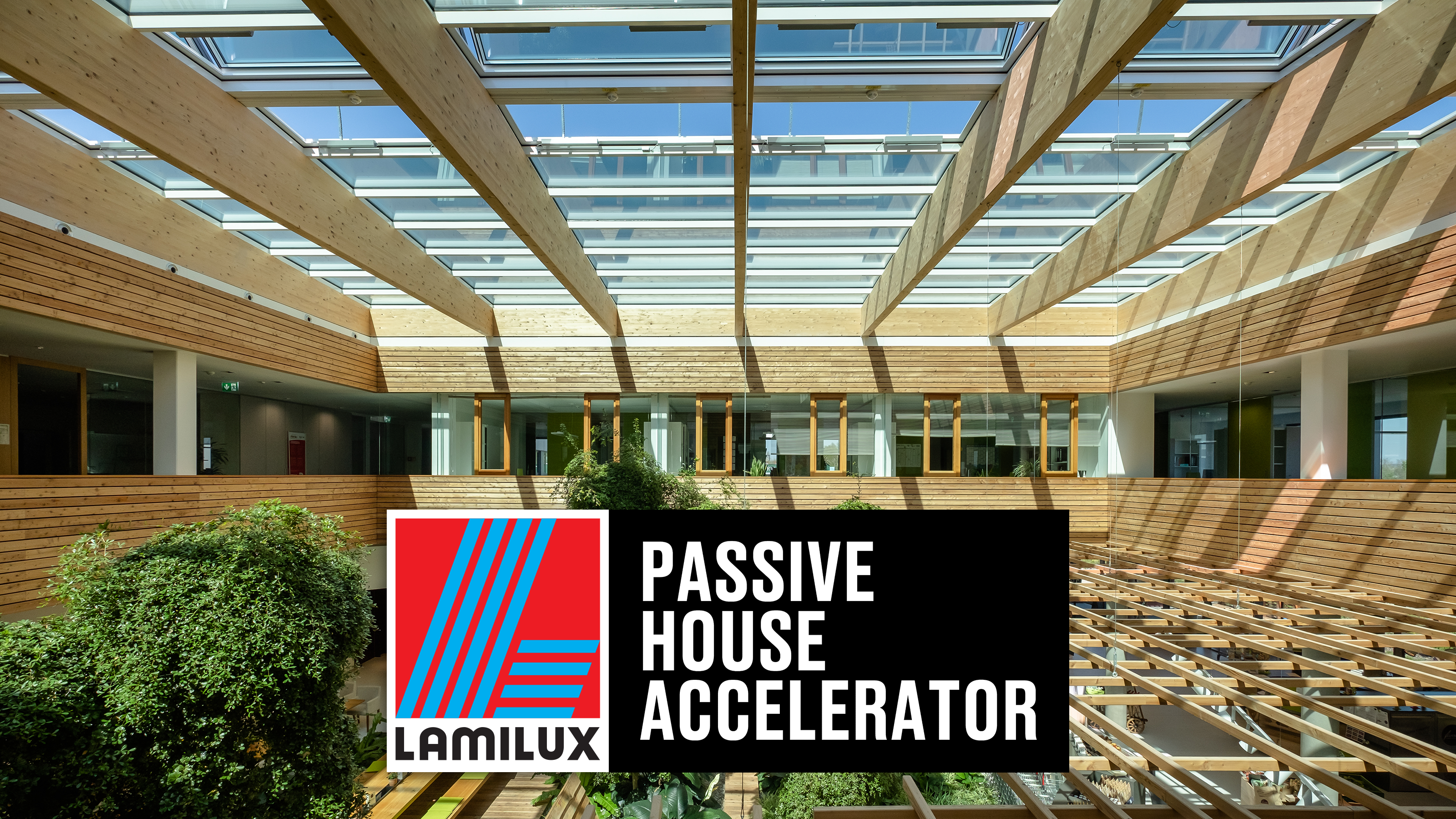 LAMILUX Becomes a Patron Sponsor of Passive House Accelerator