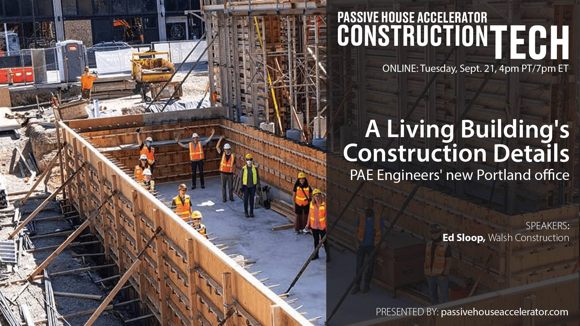A Living Building's Construction Details