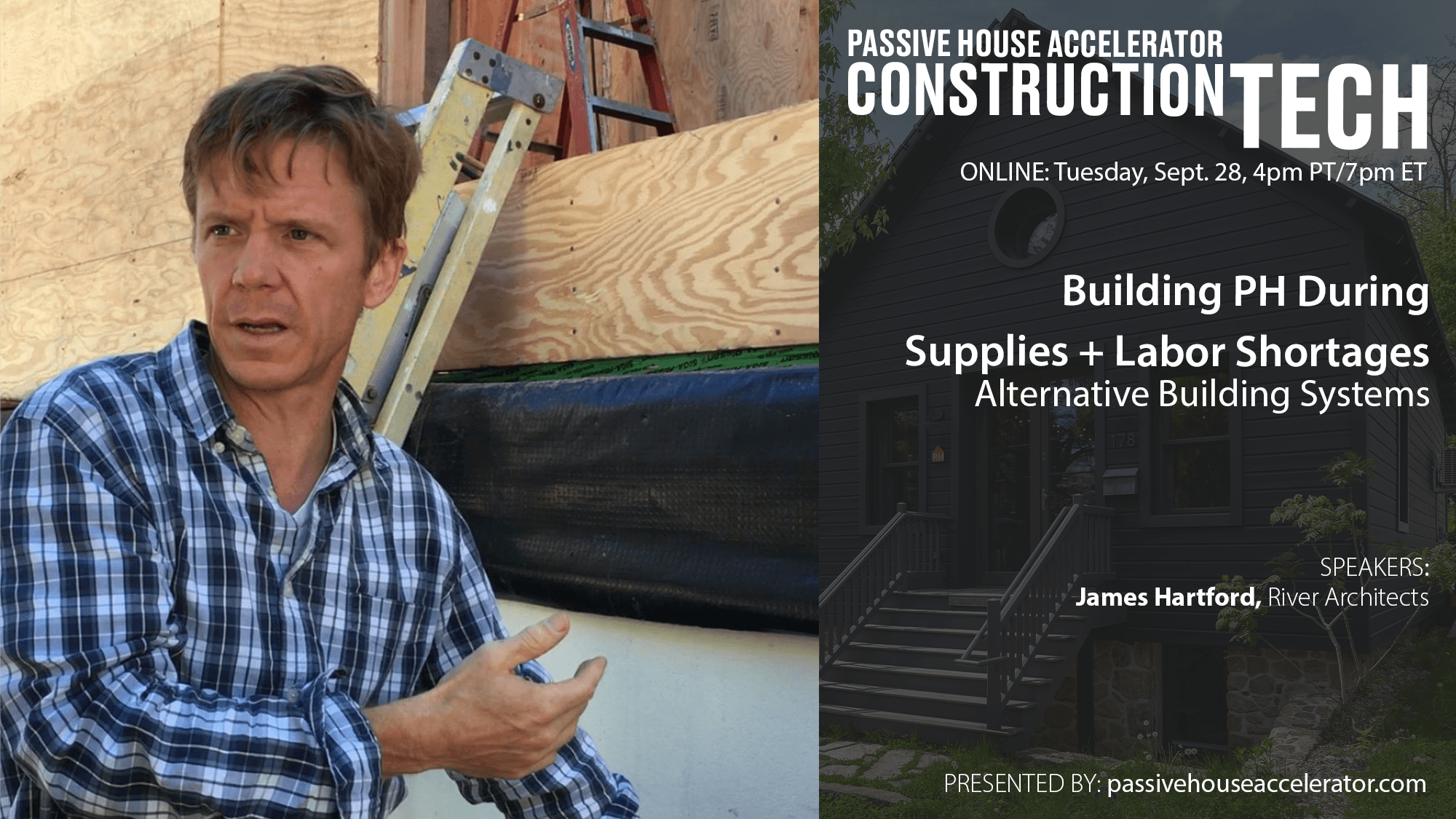 Passive House Building Systems During Labor and Supplies Shortages